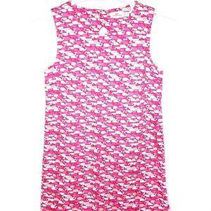 Vineyard Vines Girls Pink Whale Dress Size 12